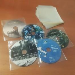 100 CD bustina