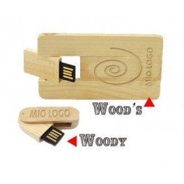 Wood's & Woody - Pen Drive USB 2.0 stampate