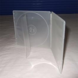 CD DVD Box F09, Con portafascetta, Super Clear, materiale resistente agli urti
