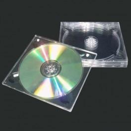 Digitray CD vassoio porta cd trasparente