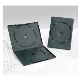 DVD Box 14mm, Doppio, Nero