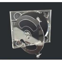 Digitray CD doppio trasparente