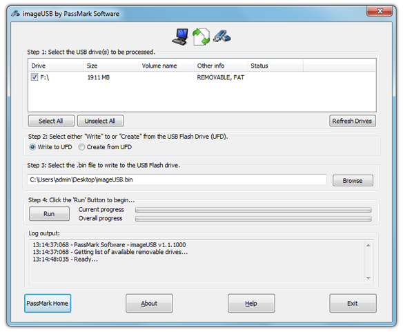 imageusb-screenshot