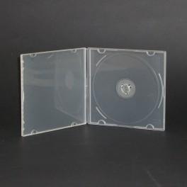 CD DVD BOX E-36 trasparente flessibile Clear