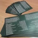 Libretti CD - DVD 8 facciate