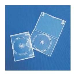 DVD Box 14mm, Singolo, Super Clear