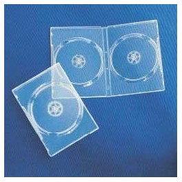DVD Box 14mm, Doppio, Super Clear