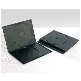 DVD Box 7mm, Doppio, Nero
